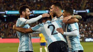 ผลบอล : เผาเครื่อง แซมบ้า!! อาร์เจนติน่า ประเดิมกุนซือใหม่เชือด บราซิล 1-0 เกมอุ่นเครื่อง