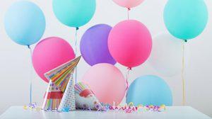 เซอร์ไพรส์วันเกิดพร้อมรับความเฮงด้วยลูกโป่งวันเกิดสีมงคล