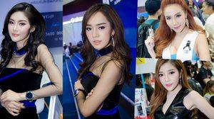 รวมพริตตี้ Thailand Mobile Expo 2017 ความน่ารักมาเต็มทุกบูธ