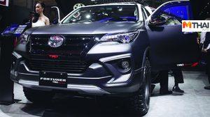 Toyota Fortuner กับชุดแต่ง TRD เผยโฉม ที่งาน GIIAS 2018