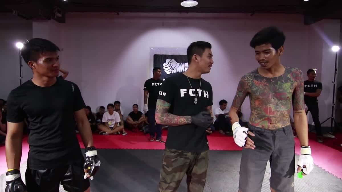 Fight Club Thailand 2017 ป้อง x เจ็ทลู่ คู่ที่ 213