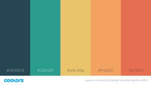 30 จานสีสวยๆ คัดมาให้แล้ว ออกแบบโปรเจ็คต์-พรีเซนต์ ก็จิ้มดูดสีได้เลย