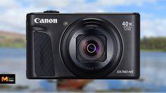 Canon PowerShot SX740 HS ซูมออปติคัล 40 เท่า ถ่ายวิดีโอ 4K ตัวแรกในตระกูล SX