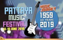 """ชมฟรี! เทศกาลดนตรี """"Pattaya Music Festival 2019"""""""