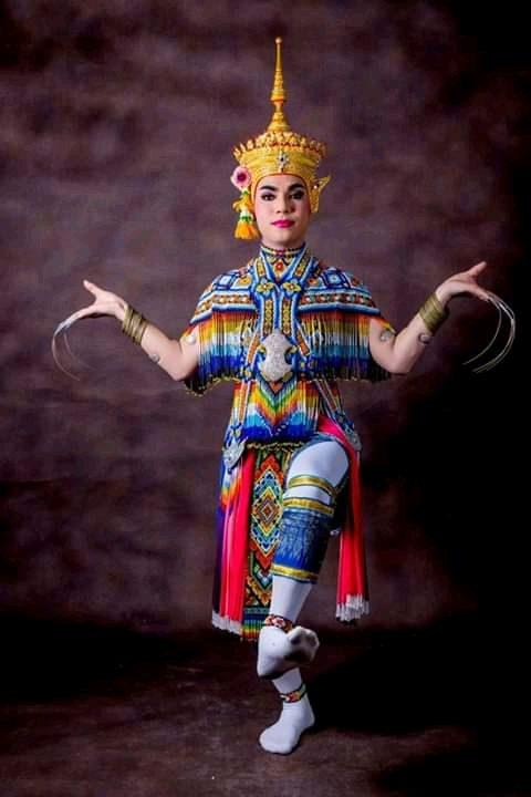 โนราสมชัย ดาวรุ่ง ท่าครูสายโนรายก ชูบัว ศิลปินแห่งชาติ