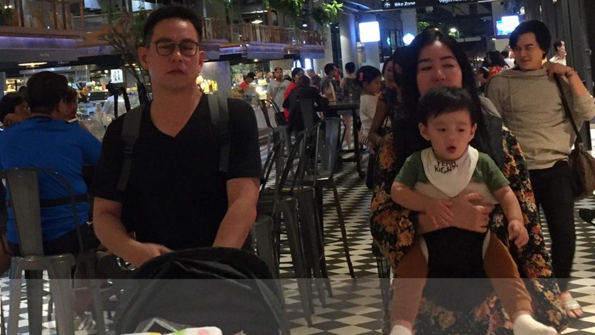 น่ารักน่าหลง! น้องจีน ลูกชาย แมน ศุภกิจ ฉายแววหล่อตั้งแต่เด็ก