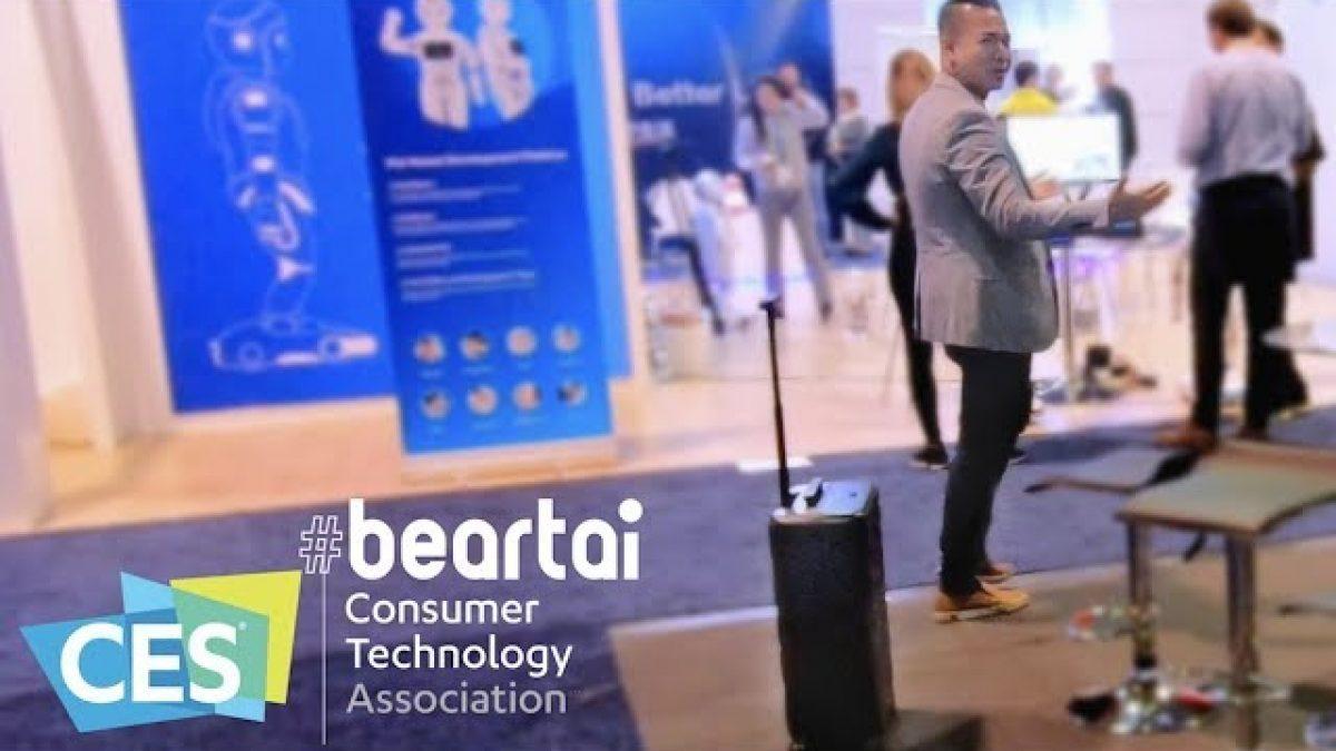 อย่างเจ๋ง! COWAROBOT-Smart Luggage กระเป๋าเดินทางเดินตามได้