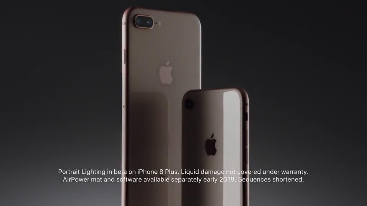 iPhone 8 และ iPhone 8 Plus ความสวยในความฉลาด