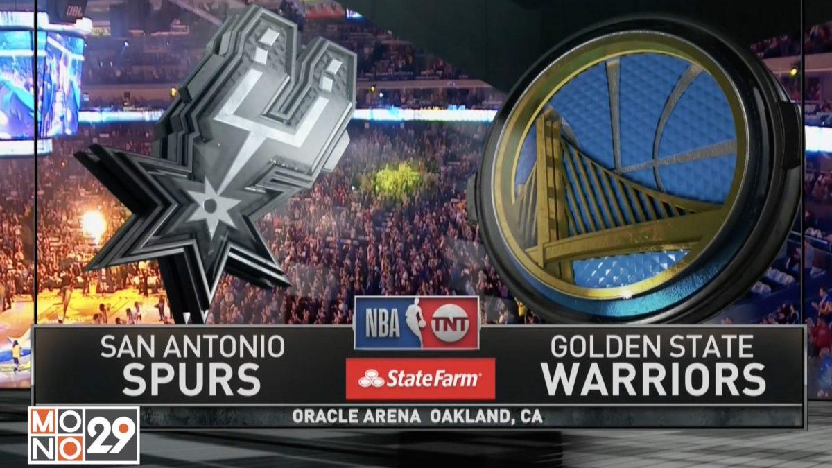Highlight Golden State Warriors VS San Antonio Spurs