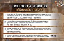 กทม.สั่งโรงเรียน 437 แห่ง หยุด 1 วันหนีฝุ่นพิษ