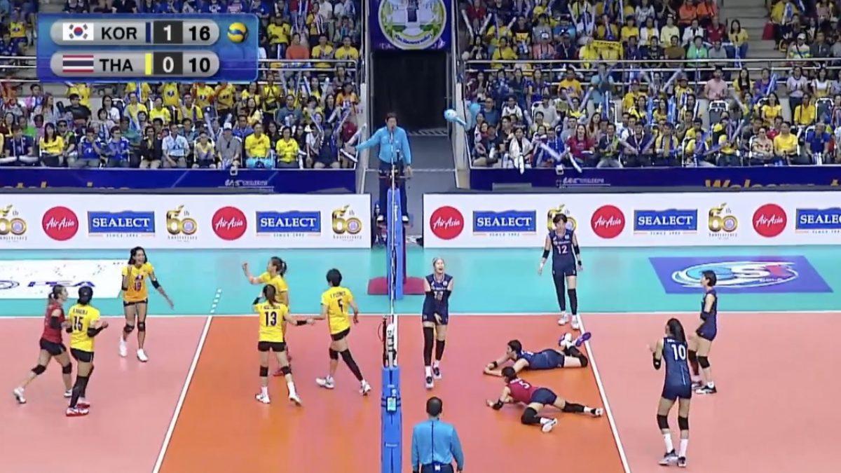 ลูกยางสาวไทย พ่าย เกาหลีใต้ 0-3 ชวดตั๋วโอลิมปิก