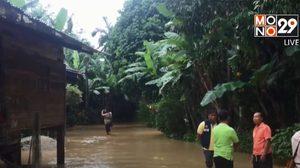 น้ำท่วมหลายพื้นที่ภาคใต้ หลังฝนยังตกหนักต่อเนื่อง