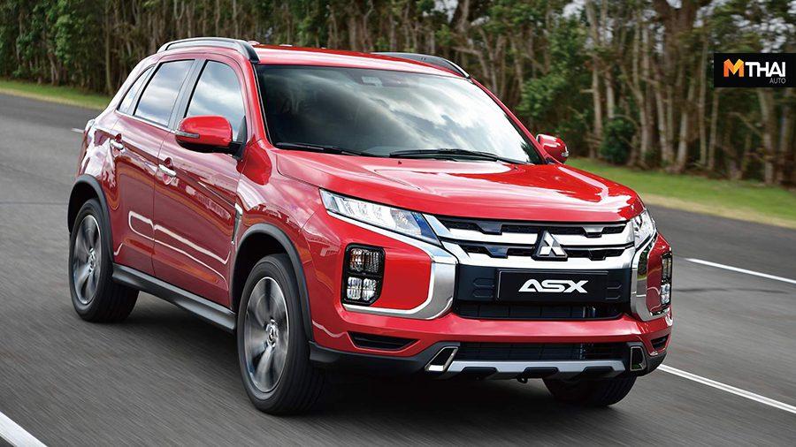 Mitsubishi ASX 2020 คอมแพคเอสยูวีใหม่ พร้อมเปิดตัวเดือนหน้า