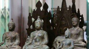 ฮือฮา! พบวัตถุโบราณพระพุทธรูปในยุคทวารวดี อายุกว่า 1,000 ปี