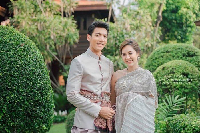 เฟิร์ส-หมู เข้าพิธีแต่งงาน