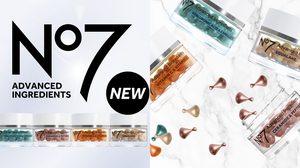 แคปซูลบูทส์ผิวสวย No7 Advanced Ingredients Capsule สูตรเข้มข้น บิด หยด ตบ สด สะอาด ใน 1 แคปซูล