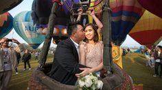 โปรอาร์ม จูงมือน้องแฟน จดทะเบียนสมรส พร้อมขึ้นบอลลูน ชมบรรยากาศโรแมนติก