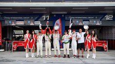 โตโยต้า ทีมไทยแลนด์ผงาดยึดโพเดียม รุ่น GTM ศึกไทยแลนด์ ซูเปอร์ ซีรี่ส์ 2017