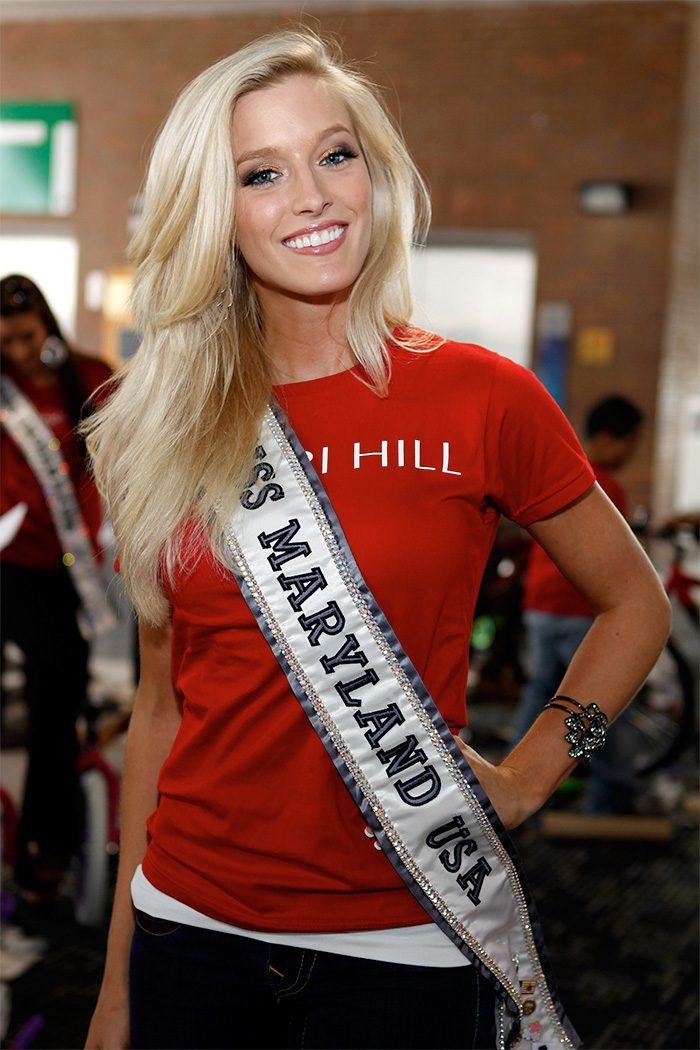 นางงาม Miss Maryland 2011