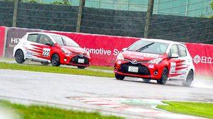 """พายุไต้ฝุ่นเข้าญี่ปุ่น ยกเลิกแข่ง TOYOTA GAZOO Racing Netz Cup Vitz Race 2017 สนามซุซุกะ  """"ธีรเวทย์-สุพงศ์"""" ฝ่าฝนทำเวลาได้ดีในรอบควอลิฟายด์"""