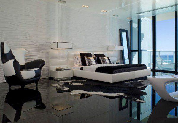 minimalist-bedroom-with-black-floor-and-amazing-views