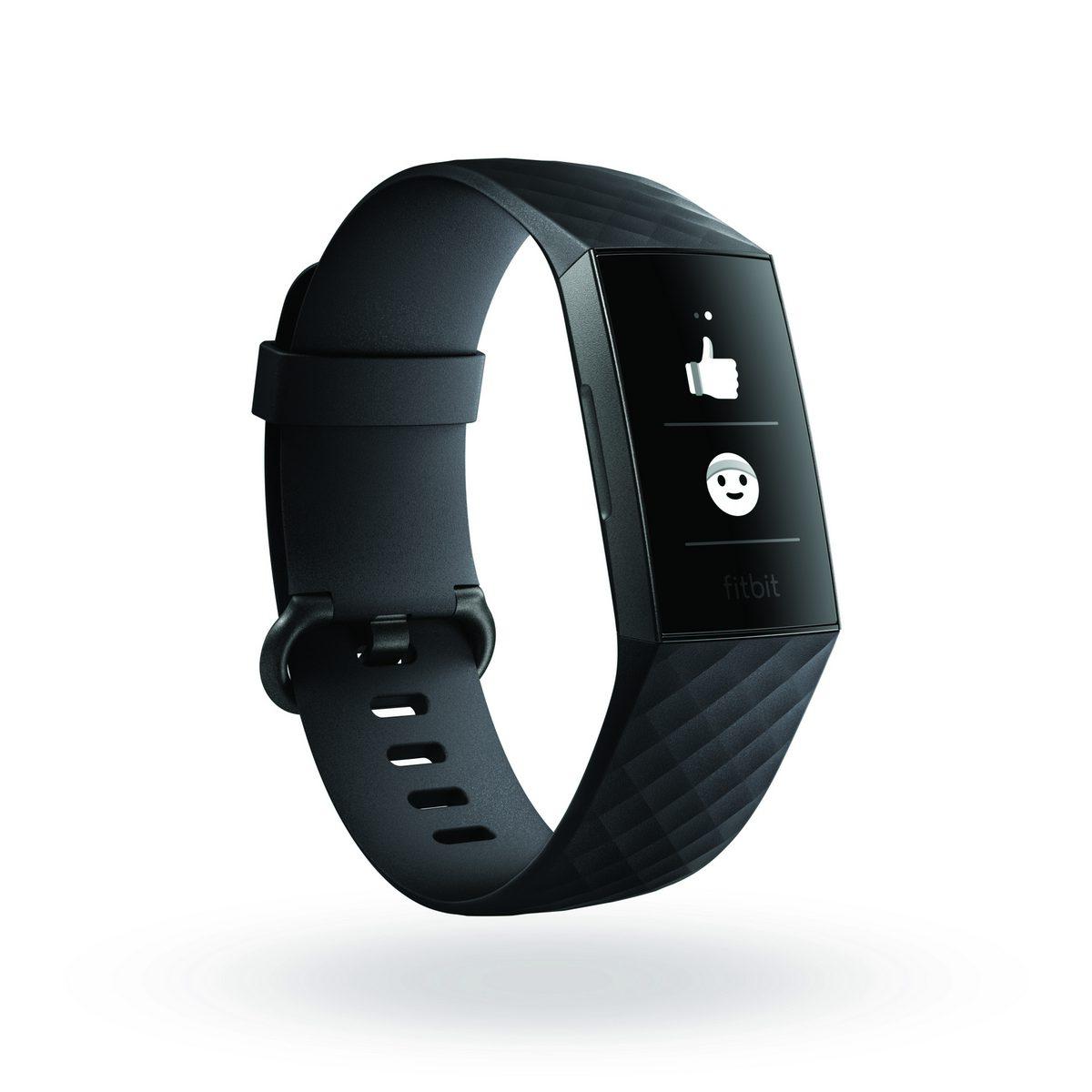 Fitbit Charge 3 อีโมติคอน