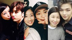 คู่แม่ลูกไอดอลเกาหลี