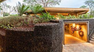 ชมการ ออกแบบอาคาร โรงเบียร์สู้อากาศร้อนแบบเปิดโล่ง