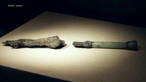 'กระบี่เล่มแรกของจีน' อายุ 2,800 ปี สมบัติล้ำค่าของประเทศ