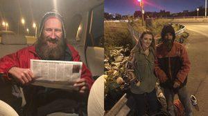 ชายไร้บ้านช่วยสาวน้ำมันหมด ด้วยเงิน $20 แต่ได้ตอบแทนกลับมามากกว่า $200,000