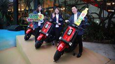 ส่งทัพ Yamaha QBIX สนับสนุนแคมเปญสุดฮิพ โออิชิ รถสุดฮิพ ทริปสุดโอ