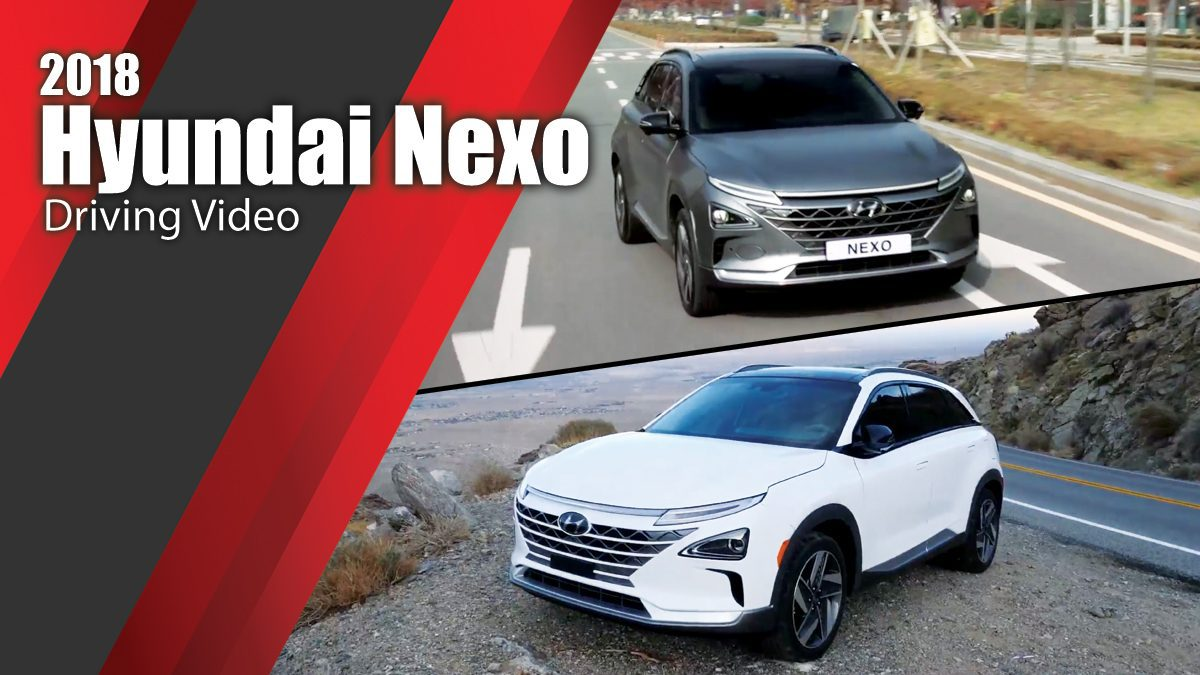 2018 Hyundai Nexo - Driving Video