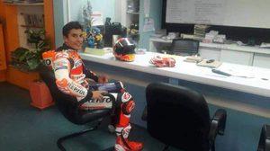 ตำรวจแจง ปม มาร์ก มาร์เกซ นักแข่งรถชาวสเปน แต่งเต็มยศเสียค่าปรับในไทย