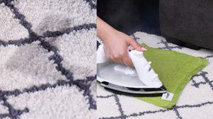 ไอเดียแฮ็คสุดเก๋ ทางลัด  How-to แก้ปัญหา ของใช้ในบ้าน ด้วย เตารีด