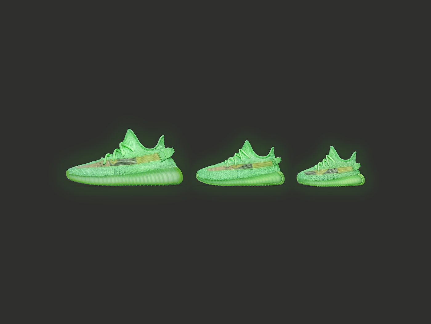 YEEZY BOOST 350 V2 Glow In The Dark
