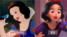 เผยโฉม 14 เจ้าหญิงดิสนีย์ เวอร์ชั่น 3 มิติ สวยสมจริง ต่างจากต้นฉบับแค่ไหน ต้องดู!!