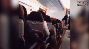 เปิดคลิปนาที เครื่องบินแอร์เอเชีย สั่นไหวรุนแรง จนต้องบินกลับออสเตรเลีย
