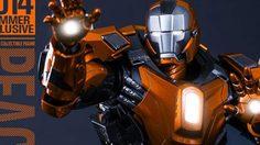มาจนได้! ชุดเกราะ IRON MAN Mark 36 ใหม่ล่าสุด จาก Hot toys
