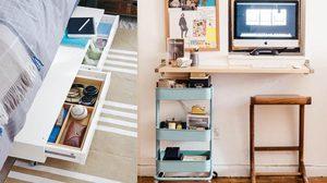 15 ไอเดียดัดแปลง ของใช้ในบ้าน มาตกแต่งพื้นที่เล็กๆอย่างแตกต่าง