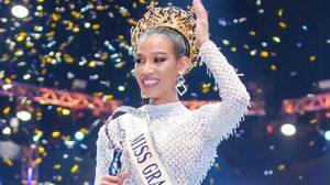 น้ำ พัชรพร จากสาวขายตั๋วหนัง สู่ มิสแกรนด์ไทยแลนด์ 2020 พร้อมคำตอบซี๊ดปาก รัฐบาลGetOut