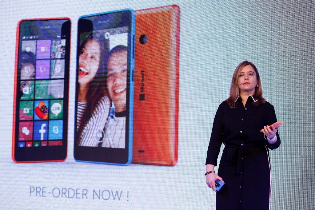 Cecile Mengoli, General Manager, Microsoft Mobile Devices