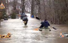 แคนาดาเผชิญน้ำท่วมจากสภาพอากาศฝนตกหนัก