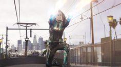 บรี ลาร์สัน ออกรายการ The Ellen Show เปิดคลิปฉากต่อสู้บนรถไฟในหนัง Captain Marvel