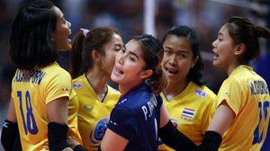 ทีมตบสาวไทย เสียเซตแรกก่อนรัวแซงชนะ รัสเซีย 3-1 ศึกลูกยาง เนชั่นส์ ลีก