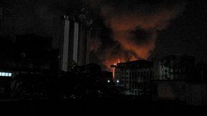 เพลิงสงบแล้ว หลังเกิดเหตุเพลิงไหม้ในซอยตากสิน 4