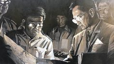 Silpakorn Artists, Again, Portrait Their Beloved King Bhumibol