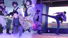 หมาก ปริญ โชว์บู๊ต่อสู้เหล่าร้าย ในงานพรีเมียร์ Maze Runner: The Death Cure