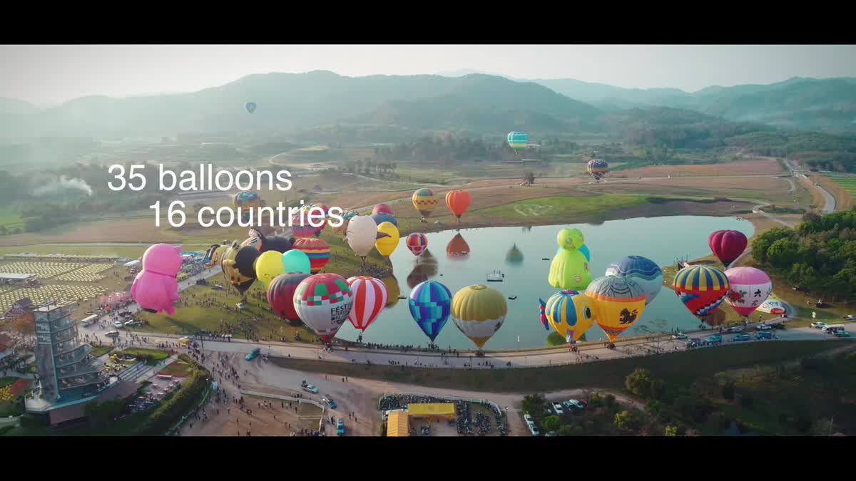 Singha Park International Balloon Fiesta 2018
