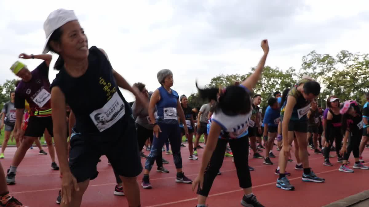 นักวิ่งทางไกลทีมชาติ-ชาวเชียงใหม่ รวมตัววิ่งเพื่อ 'จ่าแซม' ฮีโร่ถ้ำหลวง