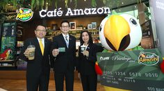 """คาเฟ่ อเมซอน เปิดตัว  """"PTT Privilege Card (Café Amazon Version)"""""""